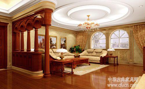欧式家具之罗马风格家具