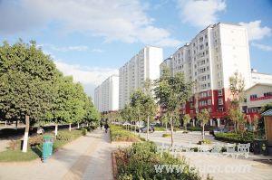 城市里的园林化小区