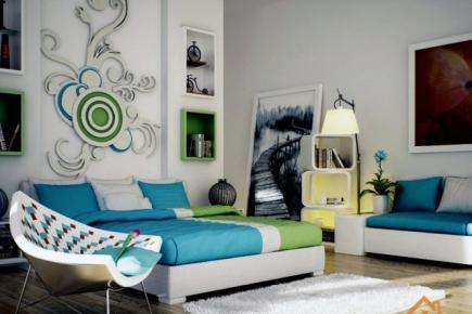 优美温馨的卧室背景墙设计
