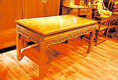金丝楠桌子经过恶炒,竟达3亿天价